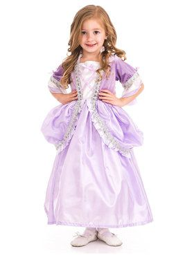 Deluxe Royal Rapunzel Princess Girl's Costume