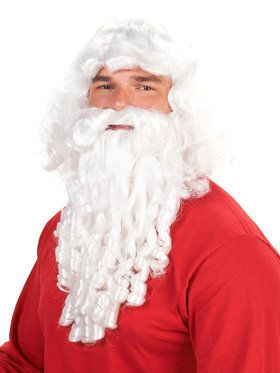 Deluxe Santa Adult Beard and Wig