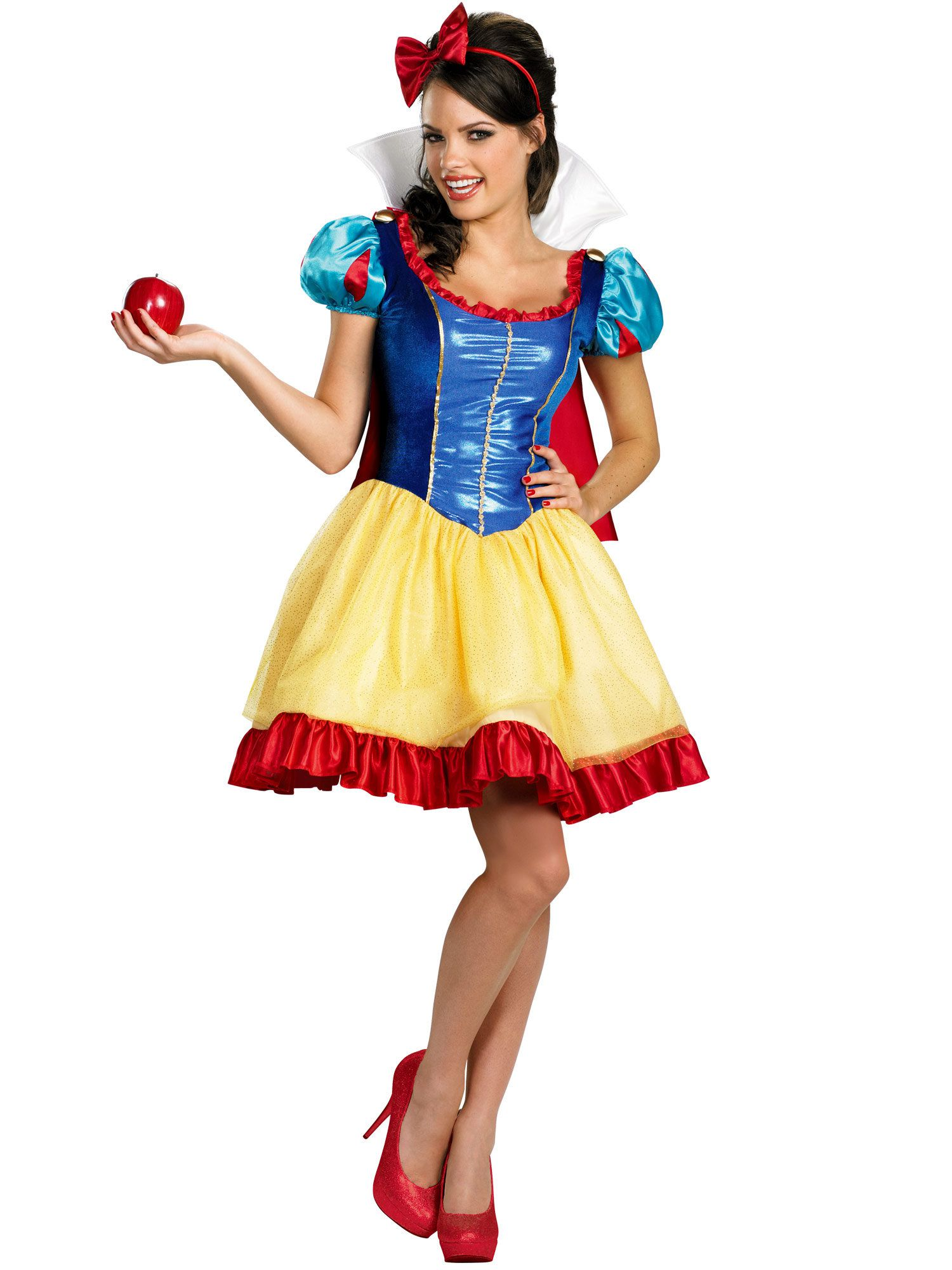 9d614a428c9 Deluxe Sassy Snow White Adult Costume - Womens Costumes for 2018 ...