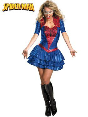 Deluxe Sassy Spider-Girl Adult Costume