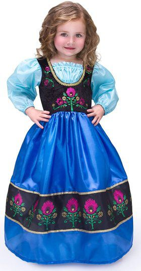 Deluxe Scandinavian Princess Girl's Costume