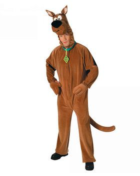 Deluxe Scooby Doo Adult Costume