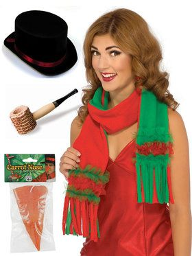 Deluxe Snowman Kit for Adults