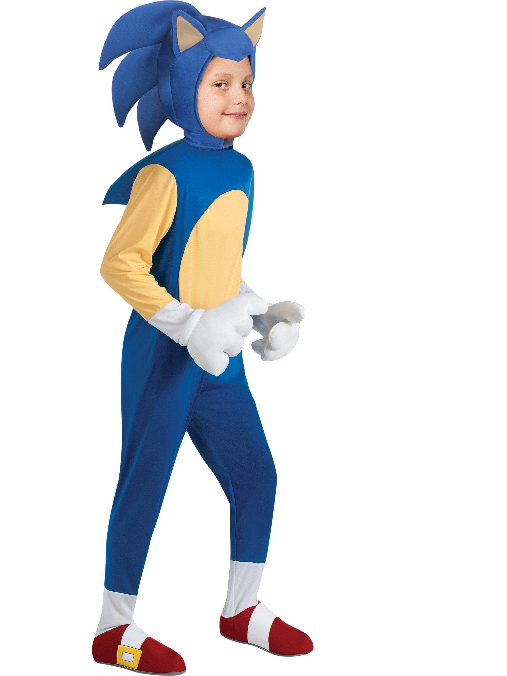 Deluxe Sonic Child Costume Boys Costumes For 2019 Wholesale Halloween Costumes