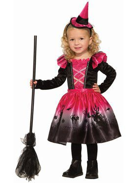 Deluxe Spooky Witch Child Costume