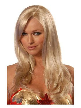 Deluxe Sunny Blonde Divine Wig Adult