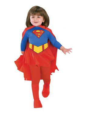Deluxe Supergirl Toddler Costume