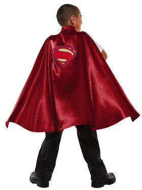 Deluxe Superman Cape for Boys