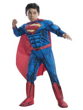 Deluxe Superman Costume For Children