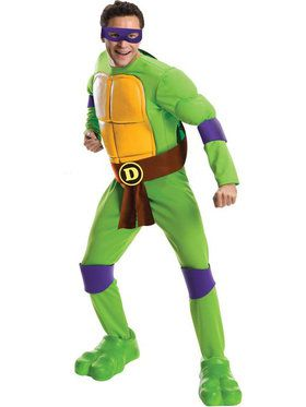 Deluxe Teenage Mutant Ninja Turtles Donatello Adult Costume