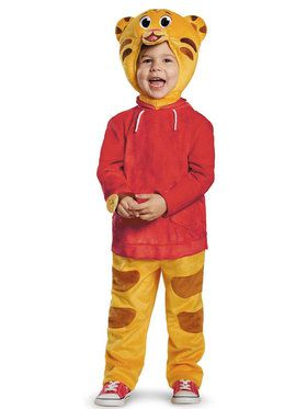 Deluxe Daniel Tiger Costume For Toddlers