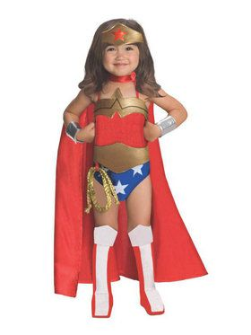 Deluxe Toddler Classic Wonder Woman Costume