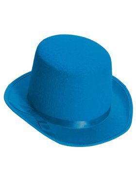 Deluxe Top Hat in Blue