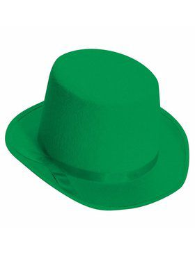 Deluxe Top Hat in Green