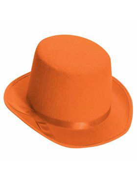 Deluxe Top Hat in Orange