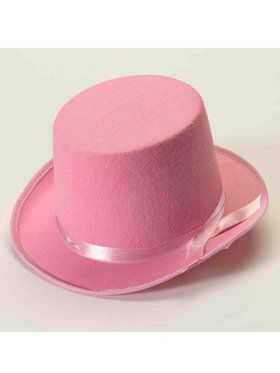 Deluxe Top Hat in Pink