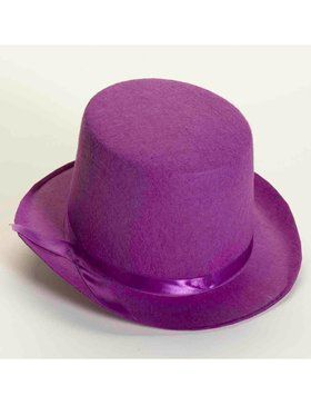 Deluxe Top Hat in Purple