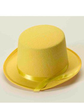 Deluxe Top Hat in Yellow
