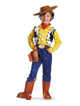 Deluxe Toy Story 3 Woody Costume for Boys