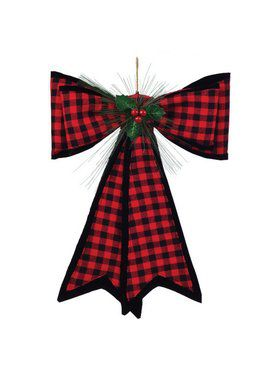 Deluxe Traditional Plaid Bow