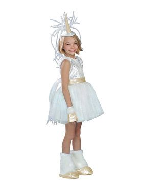 Deluxe Unicorn Girls Costume