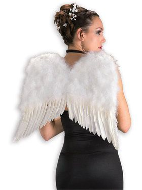 Feather Angel Adult White Wings
