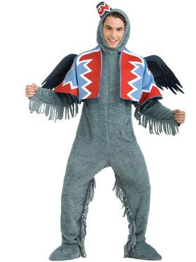 Deluxe Winged Monkey Mens Costume