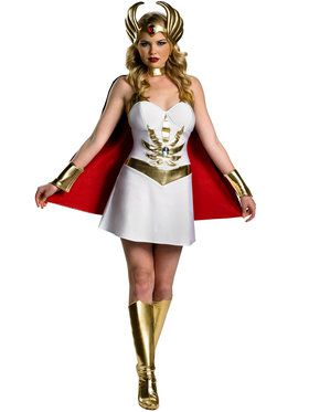 Deluxe Women's Masters of the Universe She Ra Costume