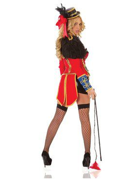 Deluxe Womens Sexy Ring Leader Costume