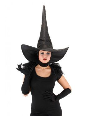 Deluxe Women's Wicked Witch Hat