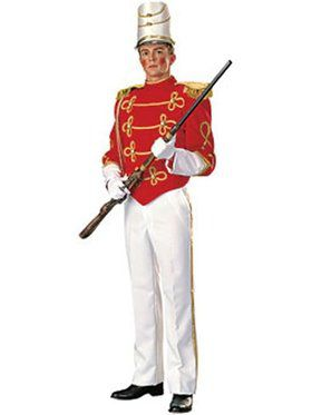 Deluxe Wooden Toy Soldier Adult Costume