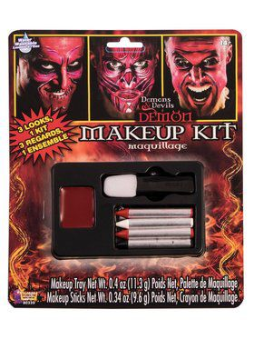 Demons And Devils Makeup Kit
