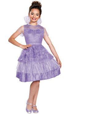 Descendants Mal Coronation Deluxe Girl's Costume