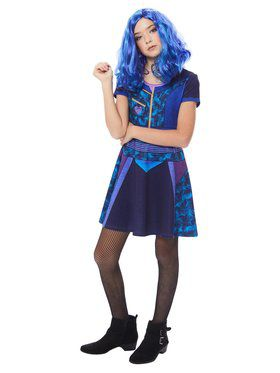 Child's Descendants Mal Dress Costume