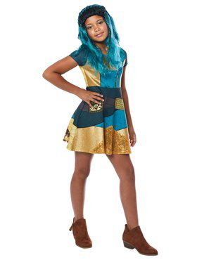 Child's Descendants Uma Dress Costume