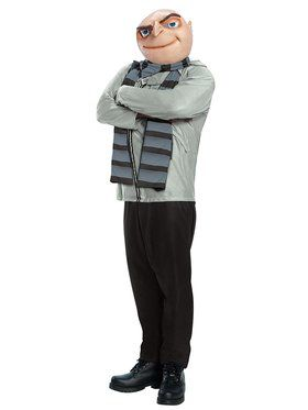 Despicable Me Gru Mens Costume