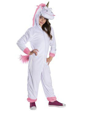 Despicable Me Oversized Fluffy Unicorn Kids Jumpsuit