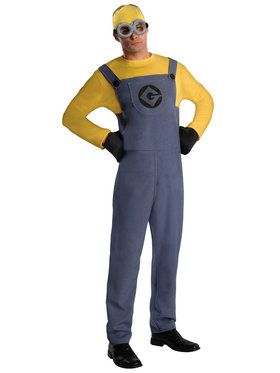 Despicable Me Minion Dave Adult Costume