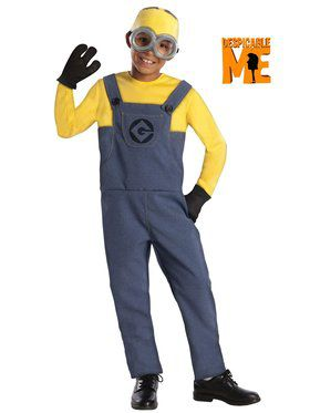 Despicable Me Minion Dave Boy's Costume