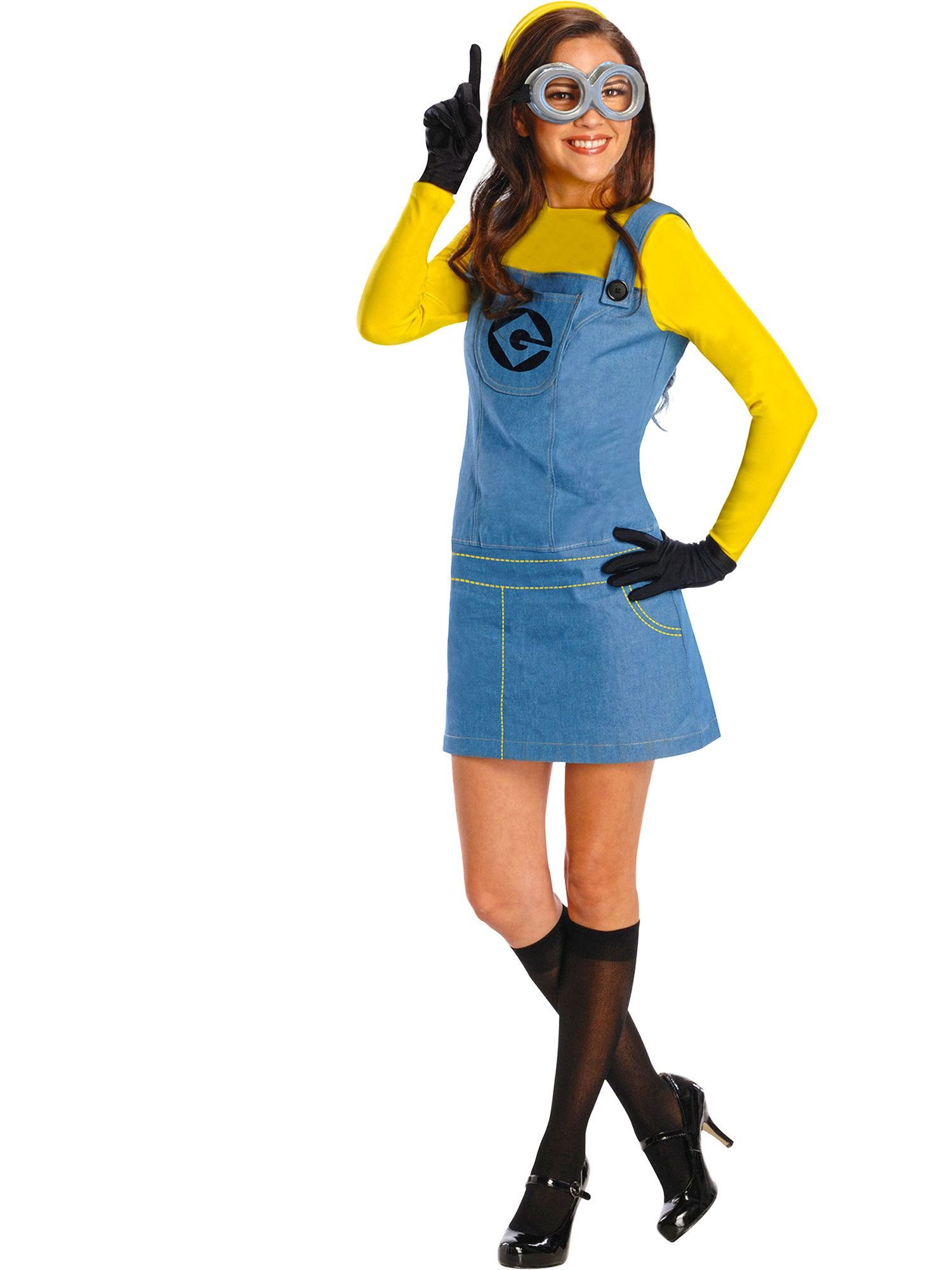 despicable me plus size minion adult plus size costume - womens
