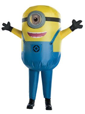 Despicable Me: Stuart Minion Inflatable Costume For Children