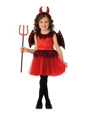 Devil Girl's Costume