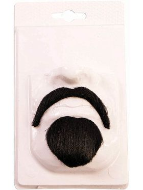 Devil Moustache Set for Adults