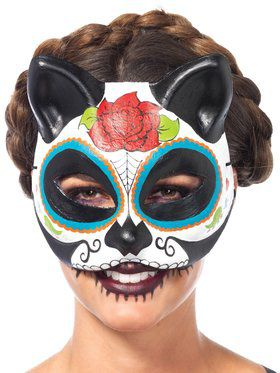Dia De Los Meuertos Mask for Women