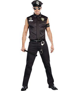 Dirty Cop Ed Banger Men's Costume