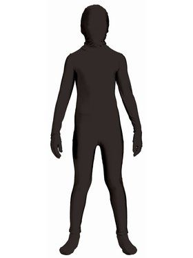 Disappearing Man Black Teen Costume