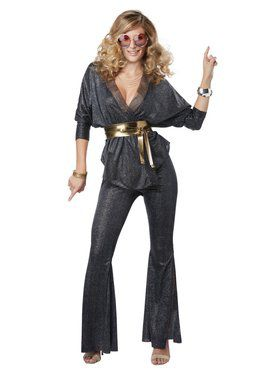 Disco Dazzler Costume for Women