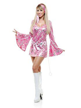Disco Doll Adult Pink