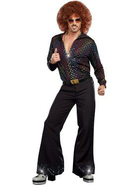 Disco Dude Men's Shirt Costume
