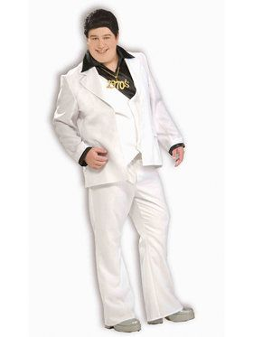Disco Fever Adult Plus Costume